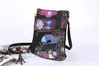 Spain brand Desigual women bag fashion desigual bag women Messenger Bags womens handbag Personalized embroidered