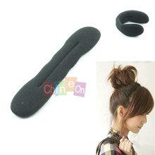 Cabelo magia Hair Styling anel grampos Hairdisk Meatball cabeça de borracha do clipe 22 cm acessórios de cabelo para as mulheres 2013(China (Mainland))