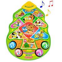 Free shipping! crawling mat, children's play mat Baby Travel Gym musical carpet Christmas Musical mat