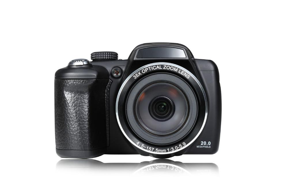 35X Opitical zoom 3 inch 20Mega pixels brand digital camera CCD Sensor 720P HD video 8x digital zoom portable family camera G35(China (Mainland))