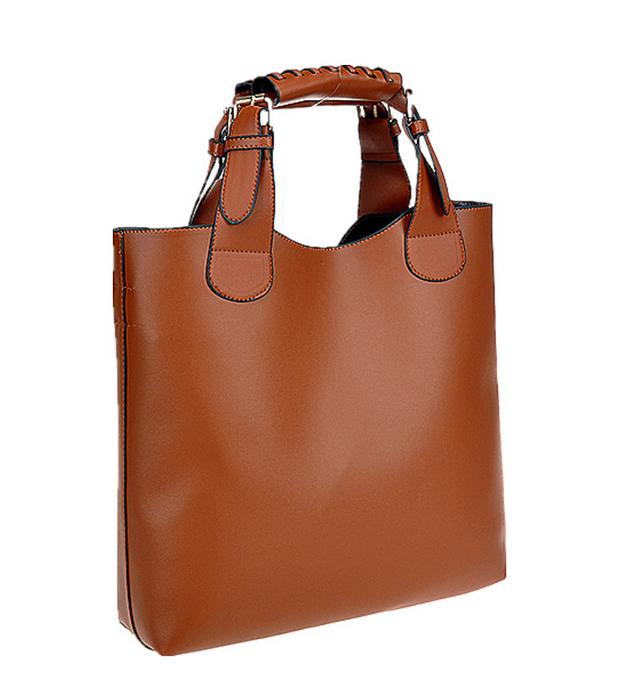 Hot New 2014 Vintage Women Leather Handbags Totes Shoulder Bag, Bags Handbags Women Famous Brands Beach bag Bucket bag(China (Mainland))