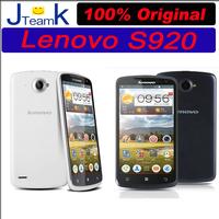 Lenovo S920 phone MTK MT6589 Quad Core CPU 100% Original 5.3 inch HD IPS screen 8MP Camera Russian Spanish multiple languages