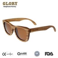 "Vintage Nerd Style Original Brand ""Kingswood"" Women Fashion Sunglasses Men Polarized Zebra Wood Glasses Hand Made Luxury Natural"