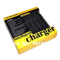 NEW NITECORE i4 V2 Intelligent Charger for NiMH/NiCD/Li-i on 18650/RCR123 Free shipping