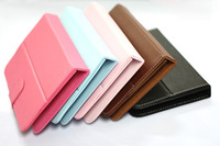 """Promotion!! Universal 7"""" inch tab Leather Case tablet PC Flip Cover Protective Case Leather Case for tablet PC"""