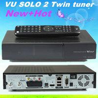 vu solo 2 original Linux system decoder Vu+ solo2 1300Mhz CPU Twin tuner dvb-s2 tuner vu solo hd satellite receiver free ship