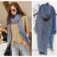 Free Shipping High Quality Fashion Scarves Wraps Cachecol Hijabs Neckerchief Scarf Shawl Women Brand Scarfs Winter Autumn A3565