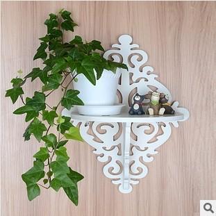 ikea style Pastoral Decoration Shelf Diamond-lattice Functional Wall Shelves Baroque Wall Mounting Parcel Board(China (Mainland))
