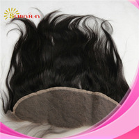 """Wholesale grade 5a 100% unprocessed brazilian virgin human hair natural straight lace frontals lace closure 13""""*4"""""""