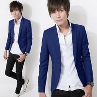 Terno Masculino 2014 Fashion Brand Korean Mens Plus Size XXXL 3XL Slim Fit Casual Suits For Men Blazer Jacket Men's Blazers Suit