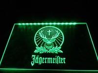 Jagermeister Neon Light Sign -TR001g  hang sign home decor shop crafts led sign