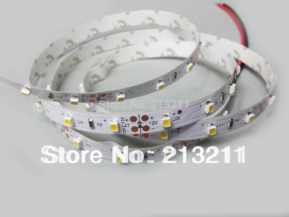 80%OFF 5M 3528 60leds/m warm WHITE Led Strip rope Light 300LEDs/5m SMD no waterproof warm white christmas decoration(China (Mainland))