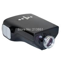 Cheapest price 400 Lumens led portable mini projector video support 1080p with TV USB DHMI VGA port PK mini projector UC30