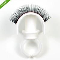 10 pcs New  Eyelash Extension Glue Ring Adhesive Eyelash Pallet  Holder Set Makeup  Kit  Tool Make up Free Shipping RUA