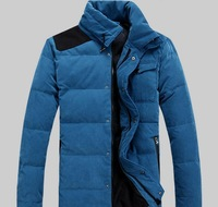 men Parkas Down jacket Coat The men's  best quality coat fashion thickening  clothes jacket BIG SIZE Men's  eiderdown outwear