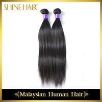 Malaysian virgin hair straight,machine weft human hair weaves retail 2pcs/lot malaysian straight,natural color rosa hair