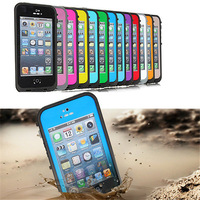 Waterproof Dirtproof Shockproof Snowproof Protection Case Cover for Apple Iphone 5