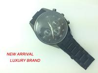 Watches Men Luxury Brand Japan Movt Quartz Watch Stainless Steel Back Silicone Rubber Band Men Business Fashion Quartz Watches