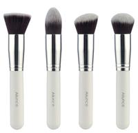 4 pcs /lot White Ailunce Synthetic Kabuki Brush Kabuki Makeup Brush Set  ZH1215C Fshow