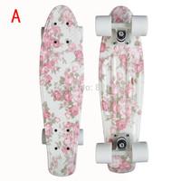 "Graphic series 22""  Custom Penny  Skateboard Retro Mini Skate long board cruiser  longboard complete skating"