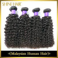 4Pcs/Lot Grade 6A Malaysian Virgin Hair Extension,Natural Color Malaysian Loose Wave,Human Hair Weaves Freeshipping Luvin Hair