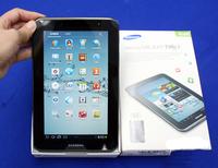 original samsung galaxy tab 2 7.0 P3100 android 4.0 1GB RAM 8GB ROM 1024x600 Dual Camera 3G phone call tablet PC 3G(WCDMA) GSM