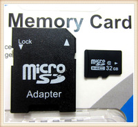 Memory Card + Micro SD Card Adapter + USB Reader 64GB 32GB 16GB 8GB 4GB Micro SD HC card Class 10 Flash card With Retail Package