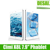 Cimi X8L Quad Core MTK6589T Tablet PC 7.9 Inch IPS Screen Android 4.2 2GB Ram 32GB 3G Monster Phone GPS Silver