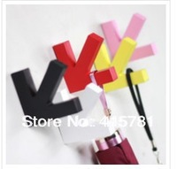 Creative Home][promotional/multicolor arrows hook/fashion wall hook/decorative frame/shelf/coat/key/umbrella stand / partition