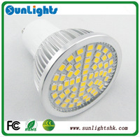 GU10 E27 GU5.3 E14 LED spot lights  60/36 LED smd 2835 6W/4W 120degree AC200-240V/110v LED lamp bulb
