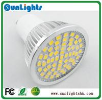GU10 E27 GU5.3 E14 LED spot lights  60/36 LED smd 2835 6W/4W 120degree AC200-240V/110v LED lamp bulb