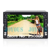 Universal 2  Din 6.2 Inch Car DVD Player with GPS Navigation ,WIFI/3G TV audio Radio stereo,Bluetooth  digital touch screen