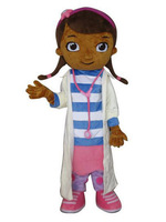 Doc McStuffins mascot costume McStuffins adult mascot costume Doc McStuffins mascot costume free shipping