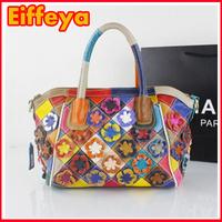 2015 new fashion women's tote bag handbag women messenger bag flowers