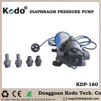 KDP-160 series working voltage AC 110~120V 50/60Hz 160psi 11bar 1.1mpa electric food grade high pressure water pump