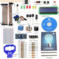 SunFounder LCD Electronic Bricks kit Ultrasonic Relay Sensor For Arduino R3 Mega