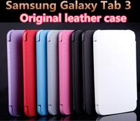 Samsung original leather case Samsung Galaxy Tab 3 7.0 T210 T211 P3200, Galaxy Tab 3 7.0 inch Tablet Case Cover free shipping