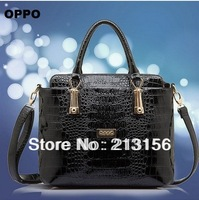 2014 New design OPPO brand women Genuine Leather handbag women leather handbag Shoulder Bag women messenger bag 3 color optional