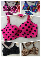 2014 New BRAND VS women's classic lovely one-piece Bra & Brief Sets (18 styles) free shipping