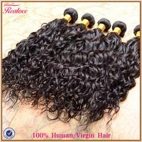 "Brazilian virgin hair natural wave 8""-30"" human hair extensions cheap brazilian hair 6 pcs lot free shipping realove hair weaves"