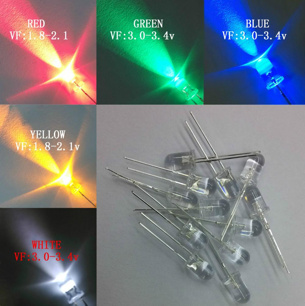 500PCS/LOT ultra high brightness LED 5MM