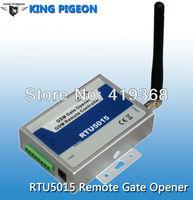 GSM gate opener, door opener,Caller ID access cotnrol,remote gate control,64 users (RTU5015)