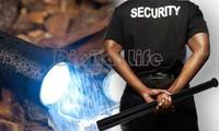 4pcs/lot Wholesale Self defense CREE Q5 LED tactical flashlight 18650 Torch Long Light Baseball Bat Shape 3 Mode 19029