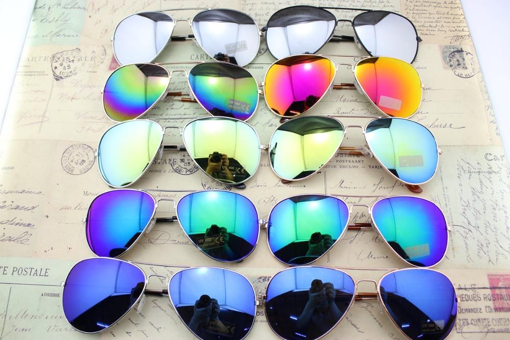 Fashion Vintage Eyeglasses Women & Men mirror Lenses Sunglasses, Cycling Eyewear UV 400 Protectio