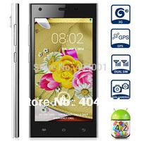 Free Flip case HTM M3 M3W 5.0 854x480 Screen Android 4.2 Phone MTK6572 1.3GHz Dual Core CPU 512MB RAM 4GB ROM 3G Ultra Slim LN