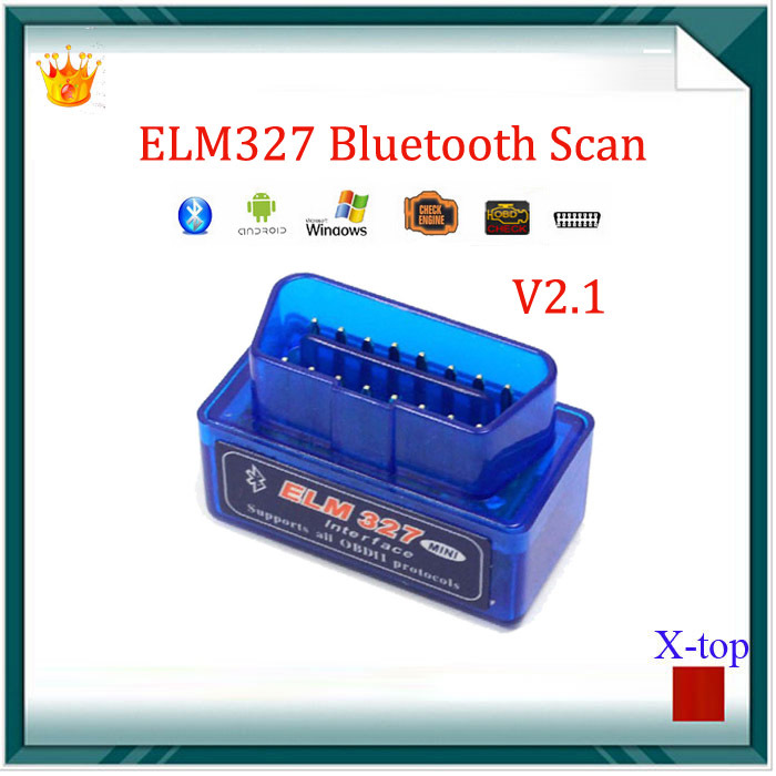 Super Mini elm327 ELM327 Blu