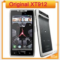 "4.3"" Original XT912 / XT912 MAXX Motorola Phone Dual Core ROM 16GB Camera 8.0MP Bluetooth 4.0 Unlocked RAZR XT912 Mobile Phone"