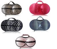 2014 new arrival storage bra bags women travel bag underwear organizer case with mesh pocket eva wardrobe box closet organizador
