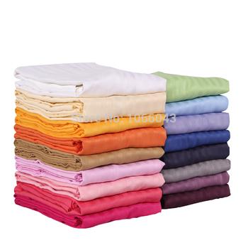 100% algodão acetinado cama consolador Duvet cobrir 100% algodão acetinado edredon coverFull rainha rei 180 * 220 / 200 * 230 / 220 * 240 / 230 * 250 cm