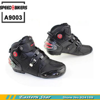 Summer moder motorcycle boots SPEED BIKERS Microfiber leather racing boots